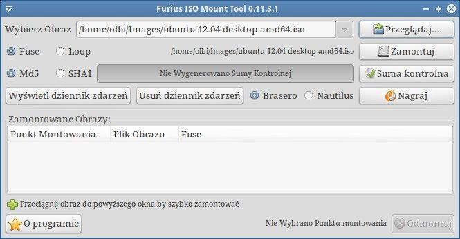 Furius ISO Mount - dodany obraz ISO