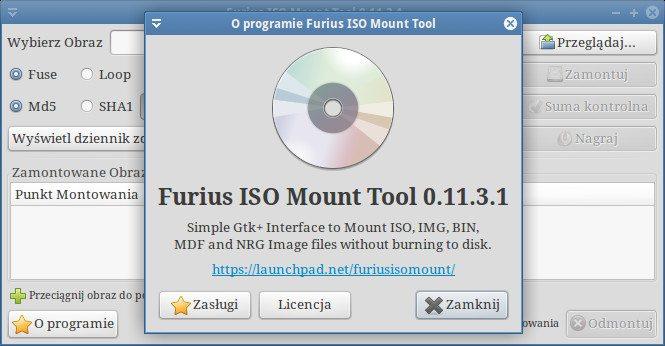 Furius ISO Mount - o wersji