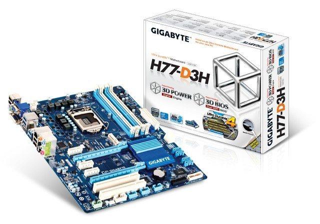 Gigabyte GA-H77-D3H