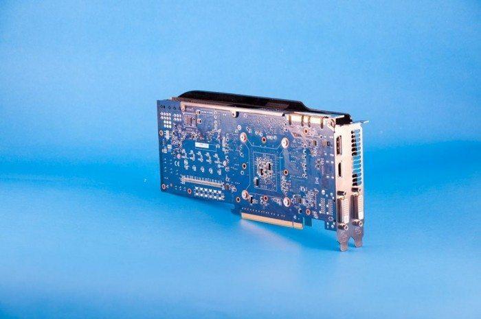 Gigabyte GV-N760OC-2GD - tył i porty