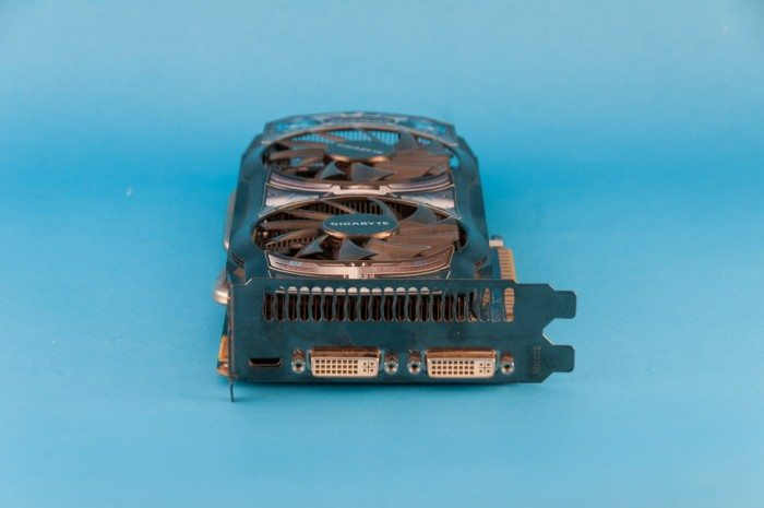Gigabyte GeForce GV-N450OCL-1G - śledź