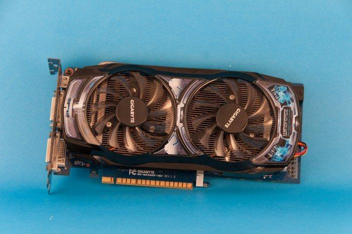 Gigabyte GeForce GV-N450OCL-1G - chłodzenie