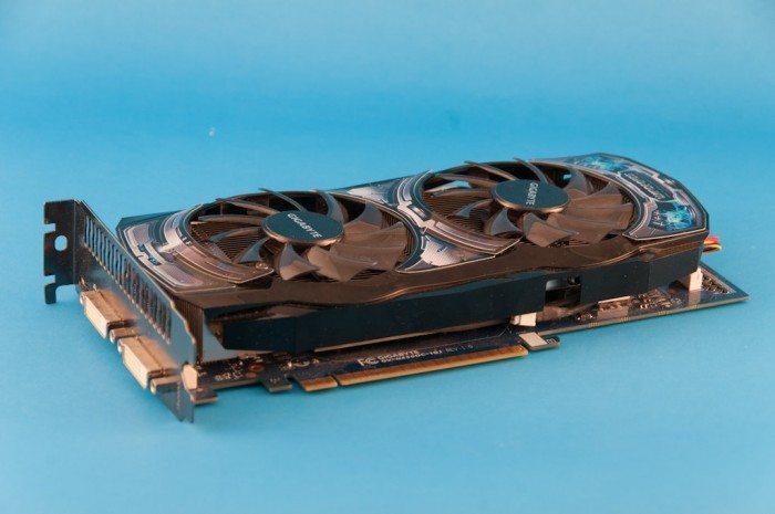 Gigabyte GeForce GV-N450OCL-1G - widok ogólny