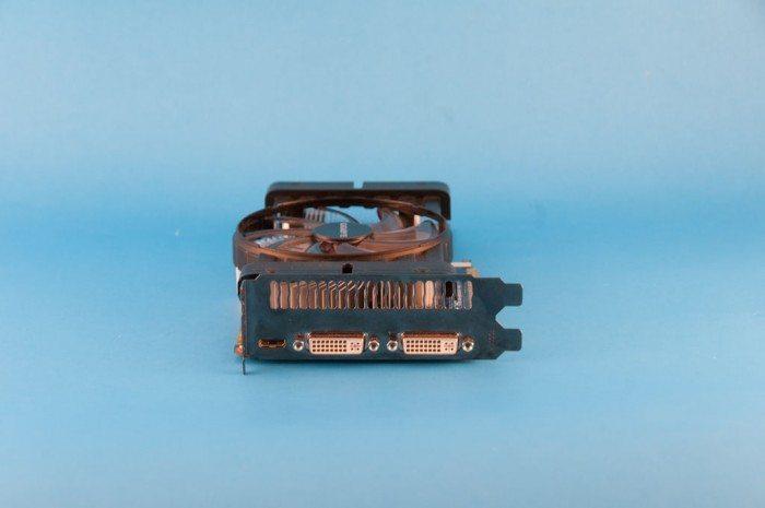 Gigabyte GeForce GV-N550OC-1GI - śledź