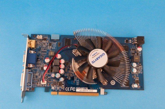 Gigabyte GeForce GV-N96TZL-512I - chłodzenie