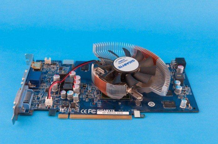 Gigabyte GeForce GV-N96TZL-512I - widok ogólny