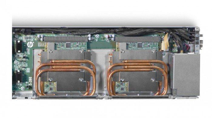 HP ProLiant XL730f Gen9 - chłodzenie procesora, pamięci i dysku