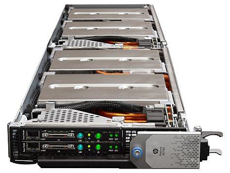 HP ProLiant XL730f Gen9 - wnętrze