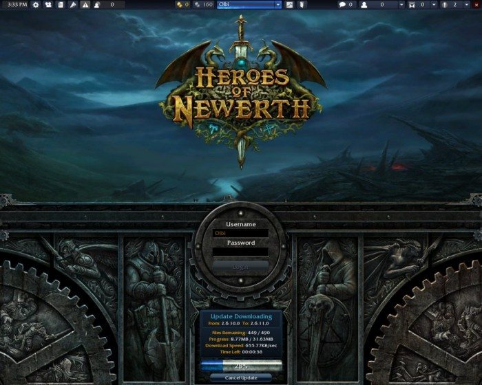 Heroes of Newerth - patch 2.6.11 - Linux update