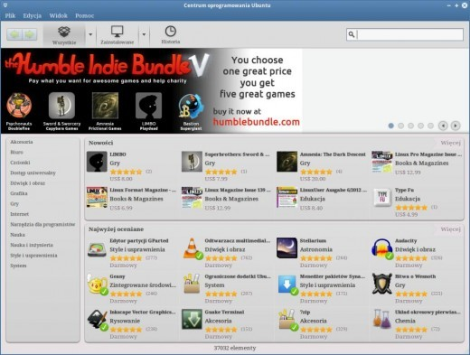 Humble Indie Bundle V - slider z grami