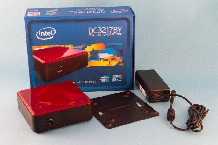 Intel NUC - NUC DC3217BY - wyposażenie
