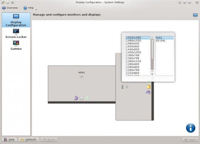 KDE SC 4.11 - KScreen 1.0