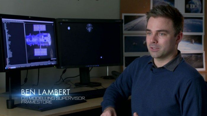 KDE wykorzystane w produkcji filmu Grawitacja - Ben Lambert