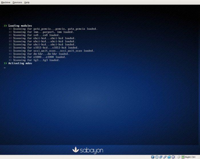 Sabayon Linux 5.3 - KDE