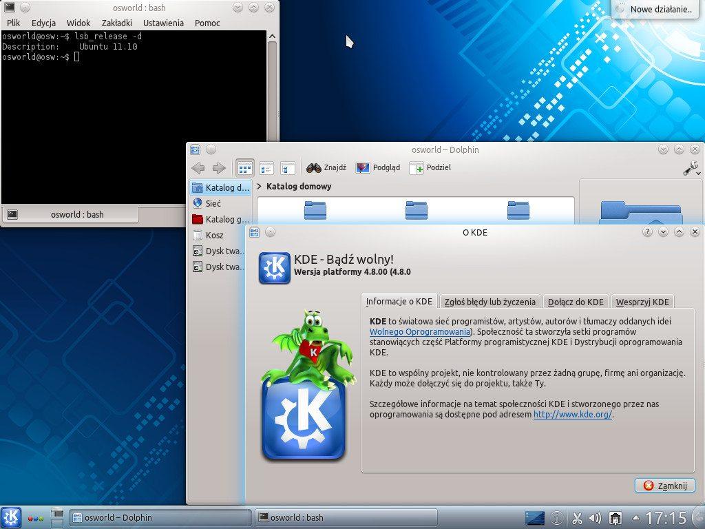 Kubuntu 11.10 - KDE 4.8.0