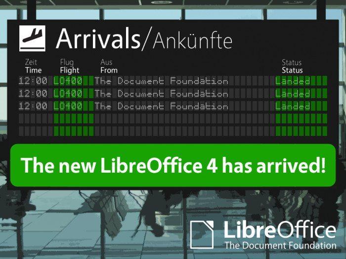 LibreOffice 4.0 - przyloty