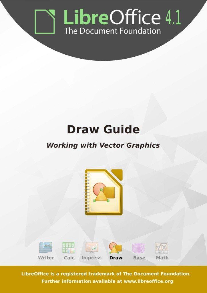 LibreOffice 4.1 Draw Guide - okładka