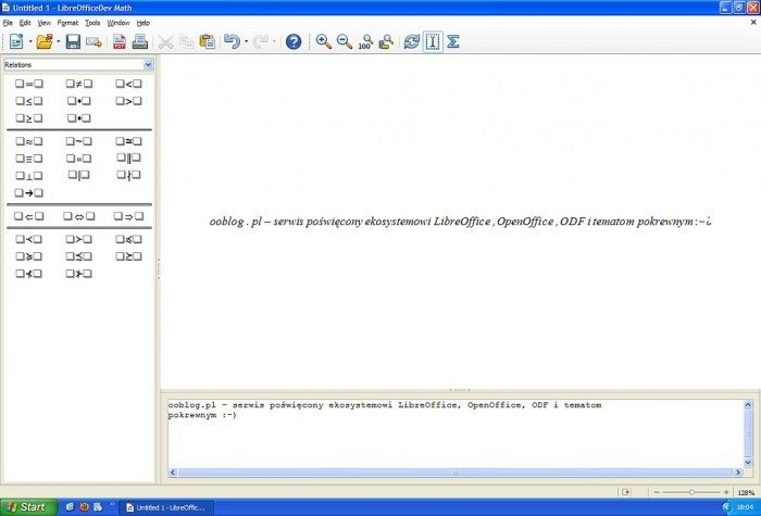 LibreOffice 4.1 - Math