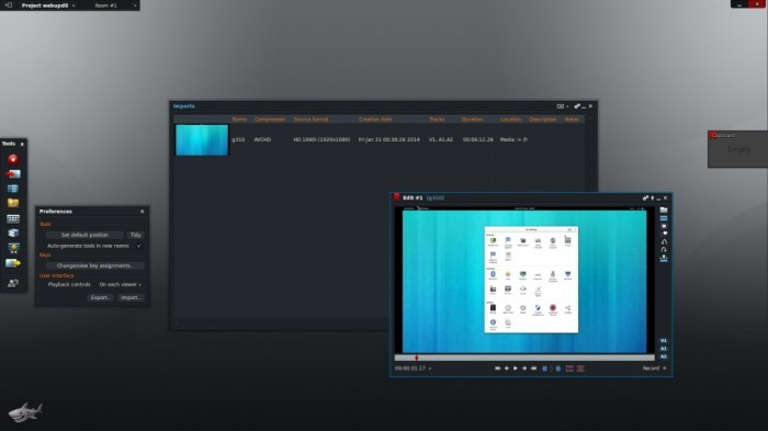 Lightworks 11.5 pod Ubuntu 14.04 LTS