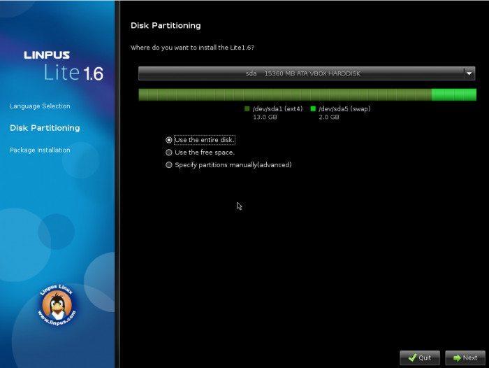 """Linpus Linux 1.6 """"Lite Desktop"""""""