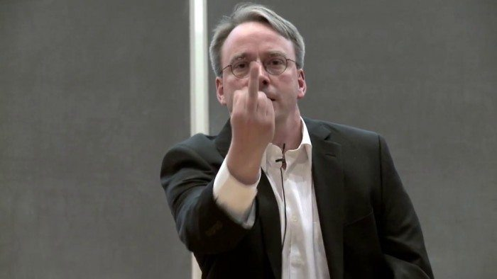Linus Torvalds - nvidia - fuck you