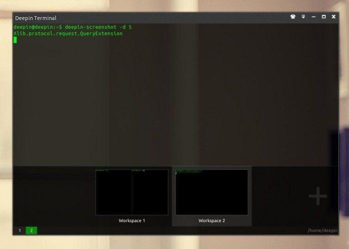 Linux Deepin 2013 - Deepin Terminal