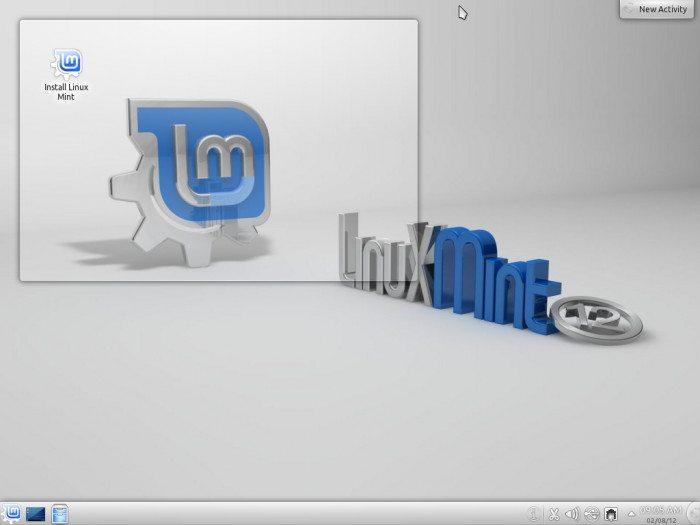 Linux Mint 12 KDE