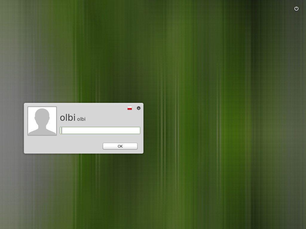 Linux Mint 16 - logowanie
