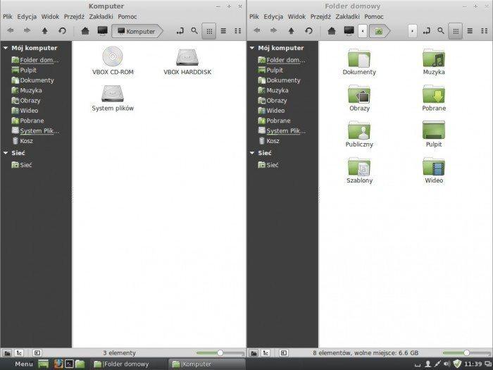 Linux Mint 16 - przyleganie okien