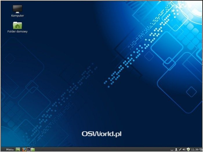 Linux Mint 16 - pulpit