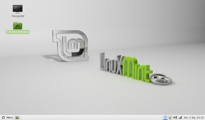 Linux Mint MATE - pulpit
