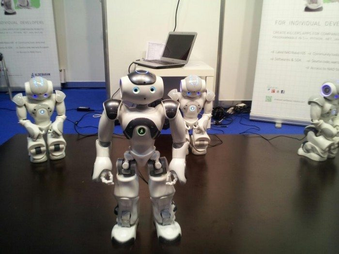 LinuxTag 2012 - roboty sterowane przez Linuksa