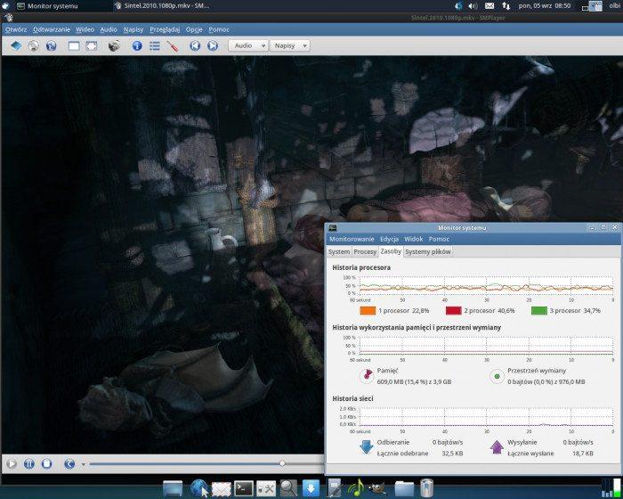 MPlayer2 - odtwarzanie bez wsparcia grafiki