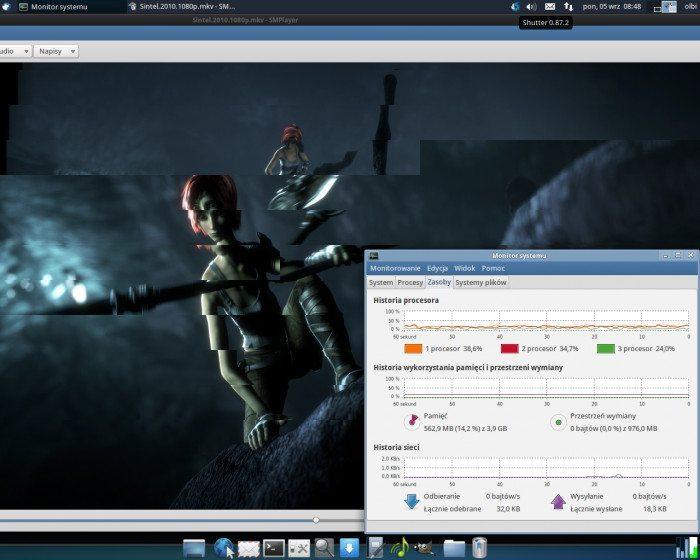 MPlayer2 - odtwarzanie ze wsparciem grafiki
