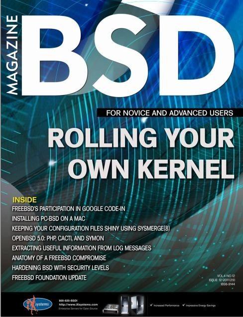 Magazyn BSD numer 12.2011