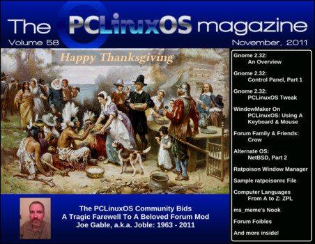 Magazyn PCLinuxOS - listopad