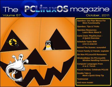 Magazyn PCLinuxOS - październik