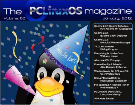 Magazyn PCLinuxOS styczeń 2012
