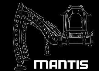 Mantis - Hexapod Walking Machine