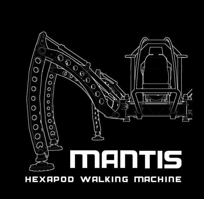 Mantis - Hexapod Walking Machine