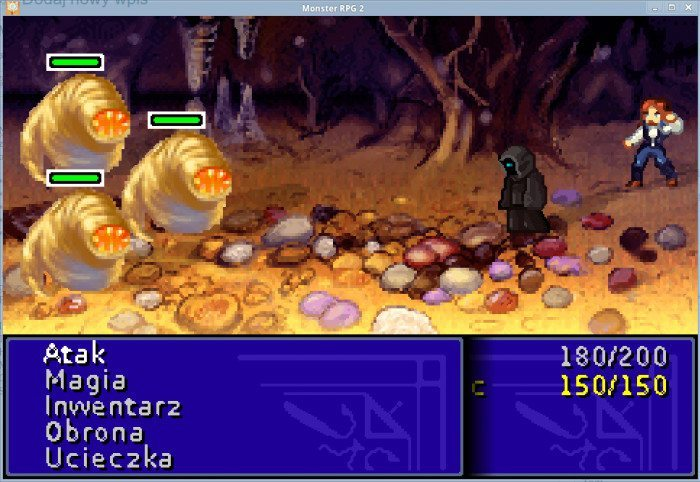 Monster RPG 2 2.0 - walka