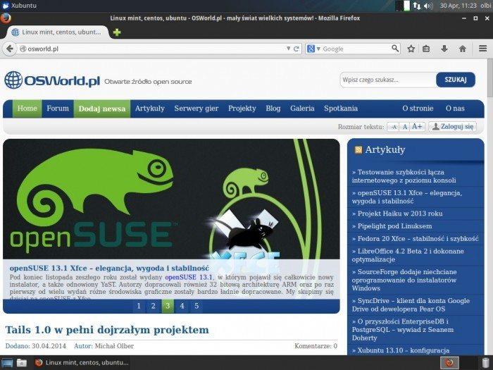 Mozilla Firefox 29.0 - wygląd