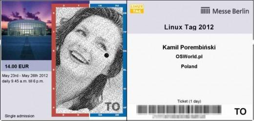 OSWorld - bilet na LinuxTag 2012