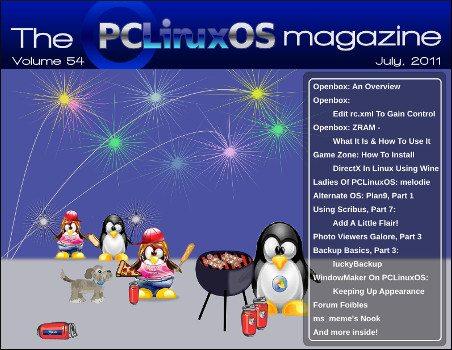 PCLinuxOS Magazine lipiec