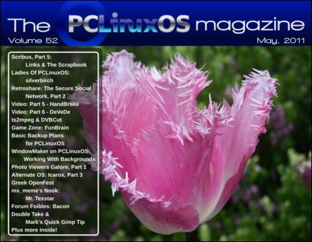 PCLinuxOS Magazine maj