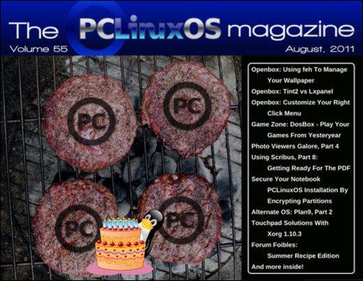 PCLinuxOS Magazine sierpień