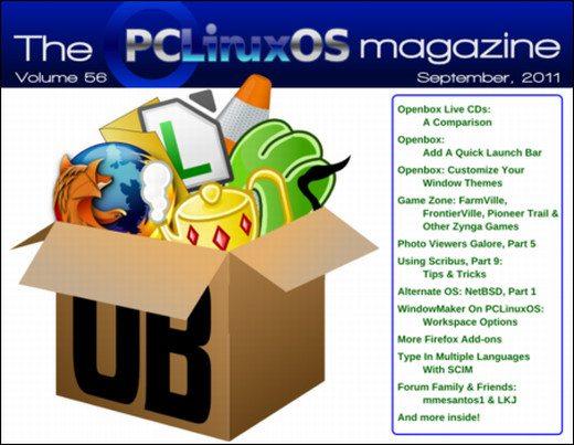 PCLinuxOS Magazine wrzesień