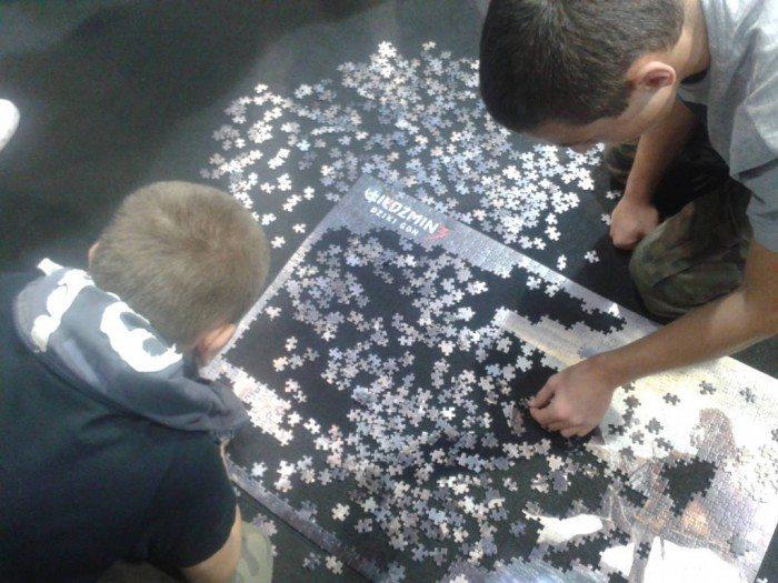 PGA 2014 - konkurs w układaniu puzzli