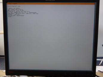 Plan 9 na Raspberry Pi - ekran ładowania