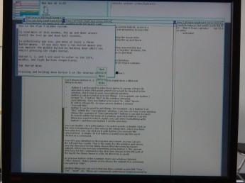 Plan 9 na Raspberry Pi - menu podręczne